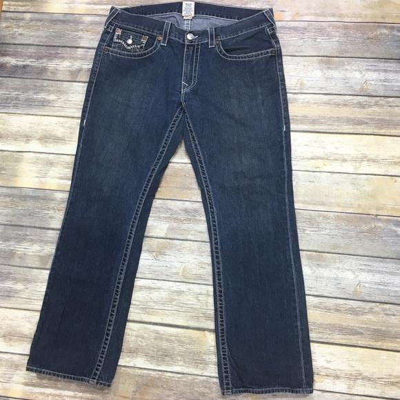 True Religion Other - {True Religion} Men's Straight Leg Jeans Sz 38